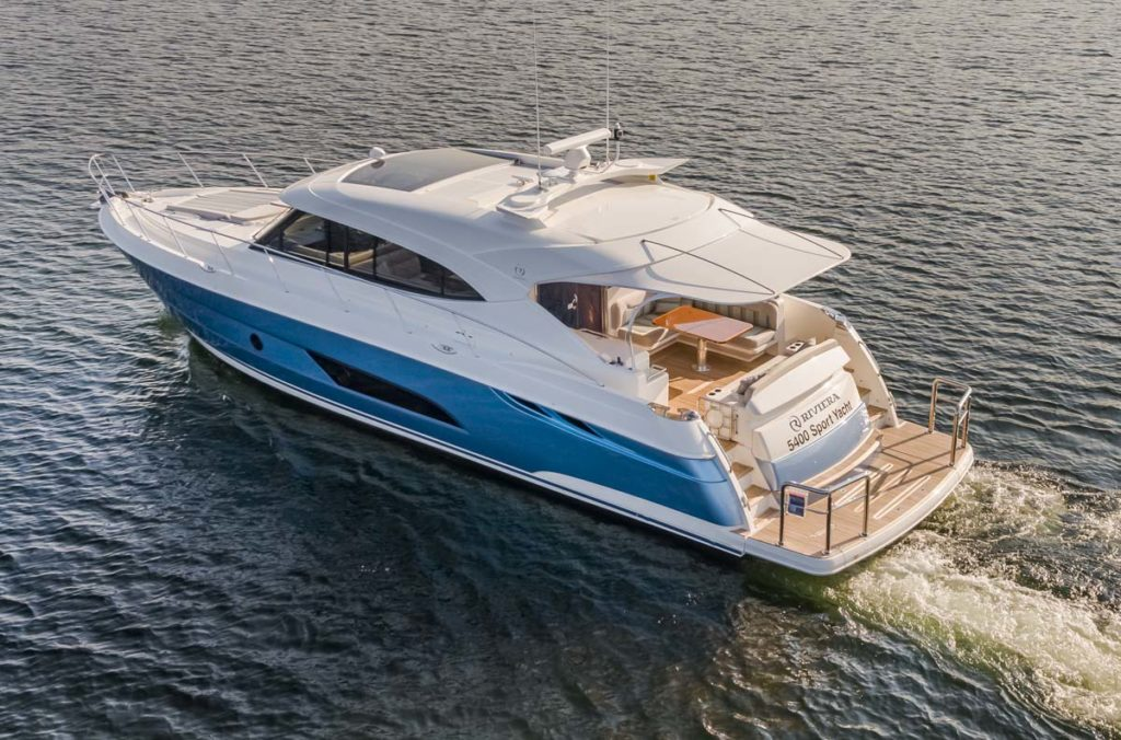 Riviera 5400 Sport Yacht - For sale - Emerald Pacific Yachts